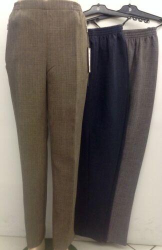 Donna CONTI Pantaloni Inverno Calore Tessuto Pantaloni slittamento dei pantaloni tg 19-27//28 pantaloni a quadri