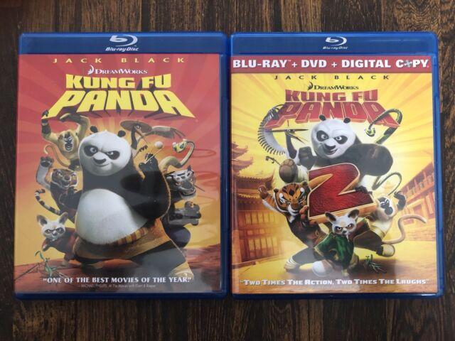 Kung Fu Panda 1 2 Blu Ray Dvd For Sale Online Ebay