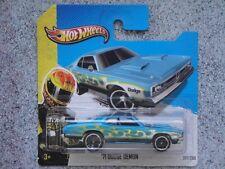 Hot Wheels 2013 #217/250 1971 DODGE DEMON blue HW Showroom