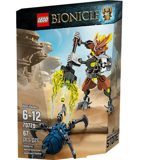 LEGO Bionicle 70779 Bionicle Protector of Stone Set New In Box Sealed  70779
