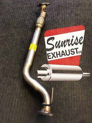 62116 FRONT EXHAUST FLEX PIPE FITS  2009-2012 HYUNDAI SONATA 2.4L ENG