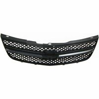 Grille For 2004-2005 Chevrolet Impala Black Plastic on sale
