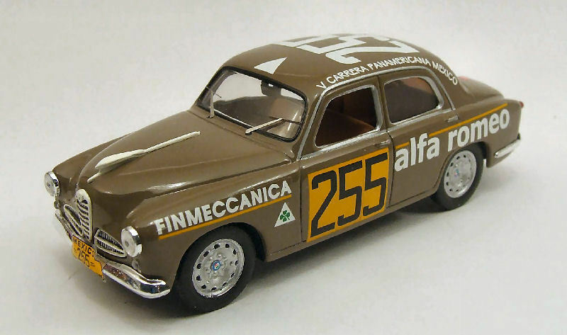 Alfa Romeo 1900 Carrera Mexico 1954 1 43 Model M4