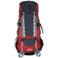 The Glacier World Famous King's Trail 70l+10l Internal Frame Backpack Hike Camp