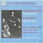 Mendelssohn, Schumann: Trios in D minor (2002)