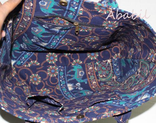 Indian Multi Mandala Handbag Women Shoulder Travel Bag Beach Towel Bags Tote Bag