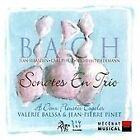 Bach: Sonates en Trio a deux fleustes Esgales (2004)