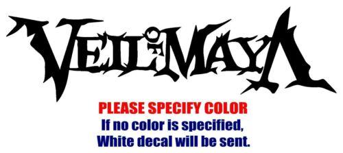 "Veil of Maya band Rock Graphic Die Cut decal sticker Car Truck Boat Window 12/"""