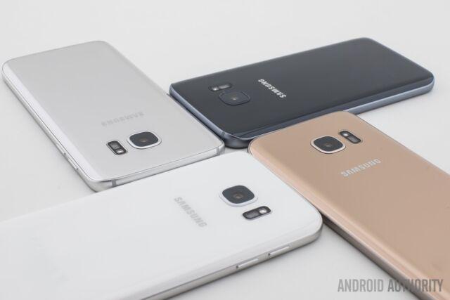 Neu Ungeöffnet Samsung Galaxy S7 G930T T-MOBILE Smartphone/Silbernes Titan/32GB