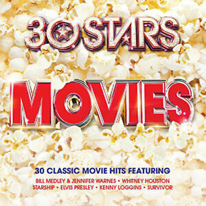 Various-Artists-30-Stars-Movies-New-amp-Sealed-2-CDs