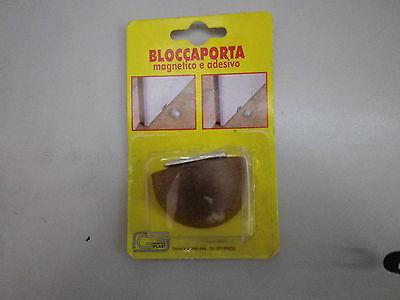 BLOCCAPORTA  ADESIVO CON ARRESTO A CALAMITA// DOOR STOP COLORE ORO