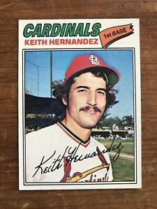 Keith Hernandez 1977 Topps card #95 MLB St Louis Cardinals NY Mets