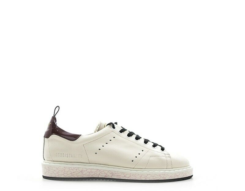 official photos 59604 36071 scarpe golden goose donna bianco/bordo g31ws631-g1