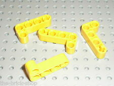 LEGO TECHNIC Yellow liftarm beam 2x4 ref 32140 /set 8295 8275 8053 8419 8421 ...
