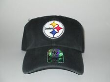 Pittsburgh Steelers 47 Brand Hat Cap NWT Size Small 6 7/8 7 Fitted Relaxed NFL S