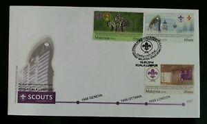 SJ-Grand-Opening-World-Scout-Bureau-Office-Malaysia-2014-Scouting-FDC