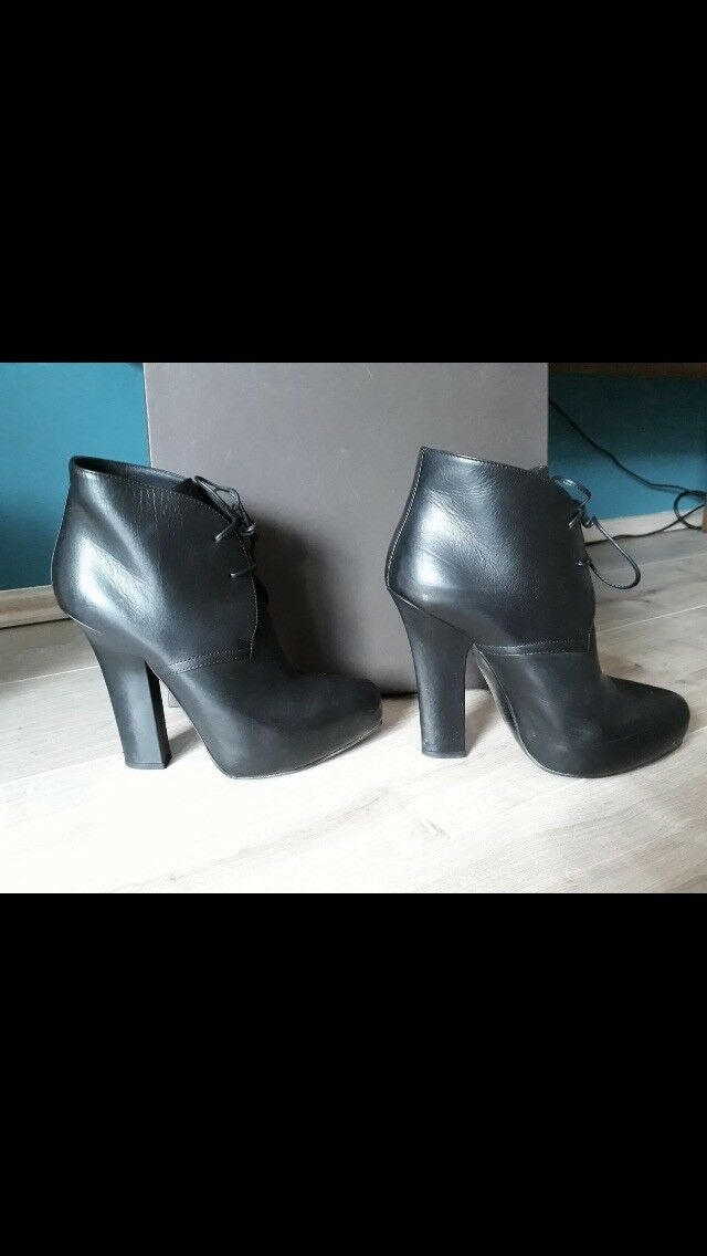 Bottega Veneta Ankle Stiefel Stiefel Stiefel 37,5 guter Zustand NP 8d0f20