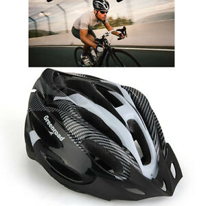 Adult Road Bike Bicycle Outdoor Cycling Carbon Safety Helmet + Visor 4 Colors