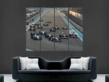 F1 FORMULA ONE ABU DHABI GRAND PRIX   HUGE LARGE WALL ART POSTER PICTURE