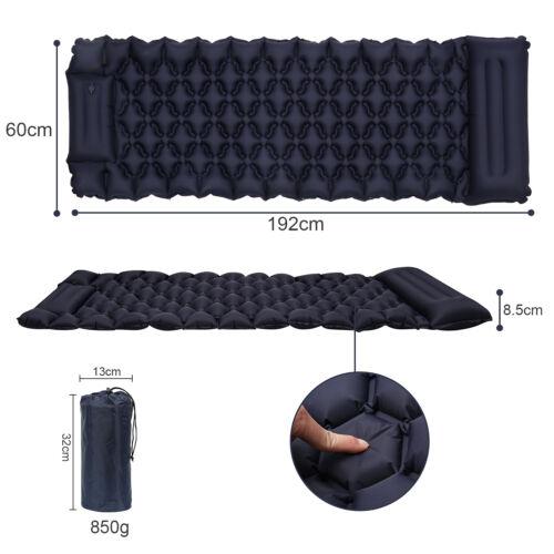 Schlafmatte Pongee Isomatte Sleeping Pad 192x60CM Luftmatratze selbstaufblasend