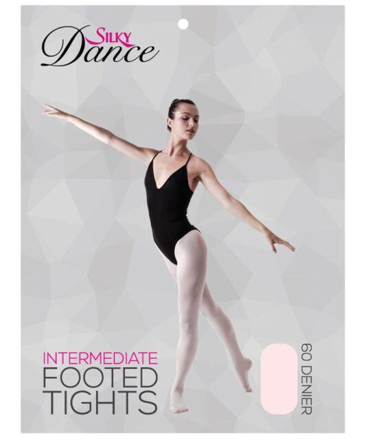 Nylon Girls Children Kids and Ladies Footed Seamless Leggings Ballet Dance Gymnastics Dancewear S,Nude Black, White, Nude, Pink