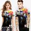 Space-Galaxy-Crane-d-039-impression-3D-Femme-Homme-Casual-T-shirt-a-manches-courtes-Graphic-Tee miniature 19