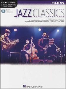 Bien Jazz Classics Cor Instrumental Play-along Sheet Music Book/audio-afficher Le Titre D'origine