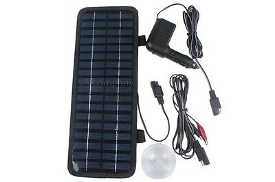 Great Powerful 12V 200mA 3.5W Portable Solar Panel Battery Charger For Car