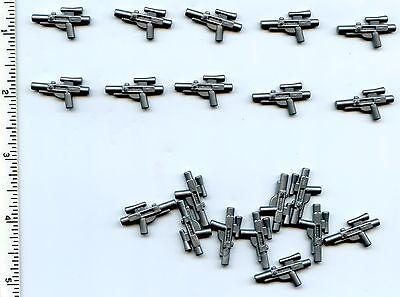 LEGO x 10 Star Wars Black Minifig Blaster Short SW 58247 Weapon Gun