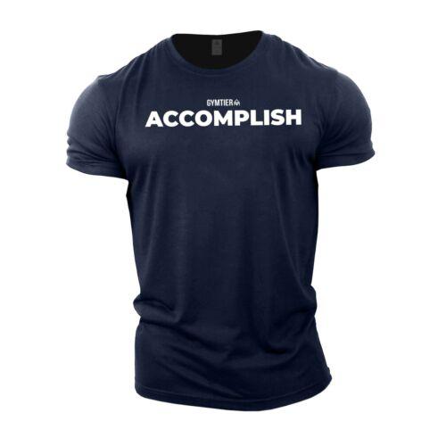 GYMTIER Motivation Gym T-Shirt NAVYUK Bodybuilding TshirtClothing Vest