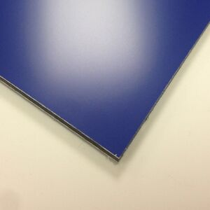 3mm Blue Matt / Gloss Dibond ACM Sheet Aluminium Composite 7 SIZES TO CHOOSE