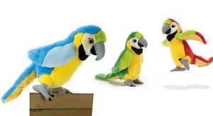 Plush & Company 15809 Peluche Rio Pappagallo Ara H 24 cm Parrot Perroquet