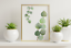 miniature 52 - Bathroom Prints Botanical Eucalyptus STUNNING FINE ART PICTURE Minimalist funny