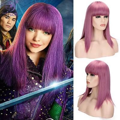 Descendants 3 Audrey Carlos Kinder Evil Kleider Cosplay Overall Kostüm Wigs