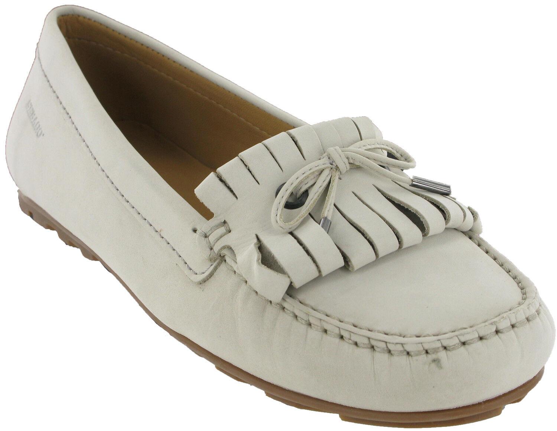 Sebago Harper Harper Sebago Corbata Para Mujer Bajo Mocasines Sin Cordones Informales Zapatos Planos Nubuck UK4 - 8 9052b2