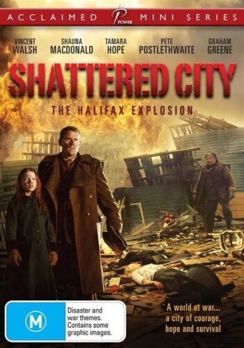 1 of 1 - Shattered City -The Halifax Explosion(DVD, 2009)-REGION 4-Brand new-Free postage