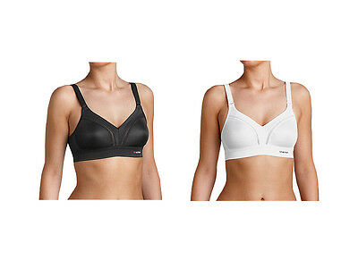 Triumph Triaction Workout Sports Bra in Black or White **BNWT**