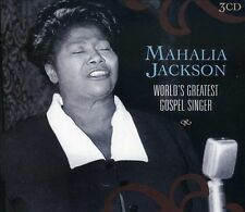 World's Greatest Gospel Singer [Box Set] by Mahalia Jackson (CD, Mar-2006, 3...