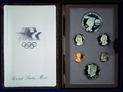 1983 PRESTIGE Proof Set U.S Complete /& Original With Box Mint Made