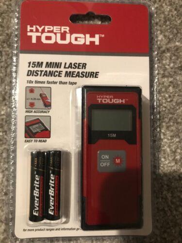 Hyper Tough 15 m Mini Lazer Distance Mesure