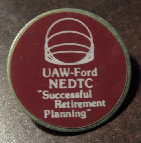 #3 Vintage UAW Ford United Auto Workers Pin