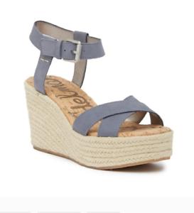 Sam Edelman $130 SZ 12 Destin Espadrille Wedge Sandal #4047-AN