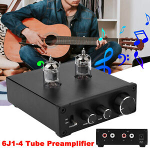 6J1-4-Tube-Phono-Stage-Digital-Turntable-Audio-Pre-Amplifier-amp-Hi-Fi-AUX-Preamp