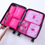 Packing-Cubes-Travel-Pouches-Luggage-Organiser-Clothes-Suitcase-Storage-Bag-7Pcs thumbnail 11
