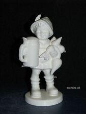 """+ww Goebel Hummel Figur, Hum 87, """"Für's Vaterle"""", Junge mit Bier u. Rettich weiß"""