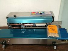 Fr900h Horizontal Stainless Steel Continuous Band Sealer Amp Embossing Machine