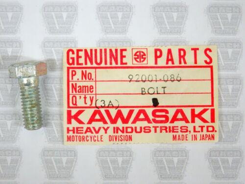 Kawasaki NOS NEW 92001-086 Hex Head Bolt 8x20 F5 F7 F8 F9 F12MX G3 KX 1970-75
