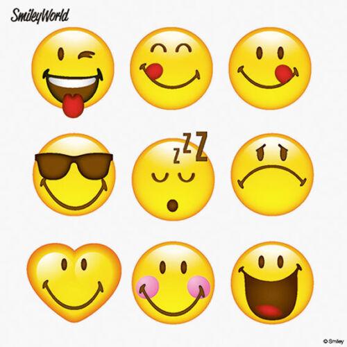"""33 x 33 cm 3-lagig /""""Happy Smiley/"""" Party Servietten Smiley Servietten"""
