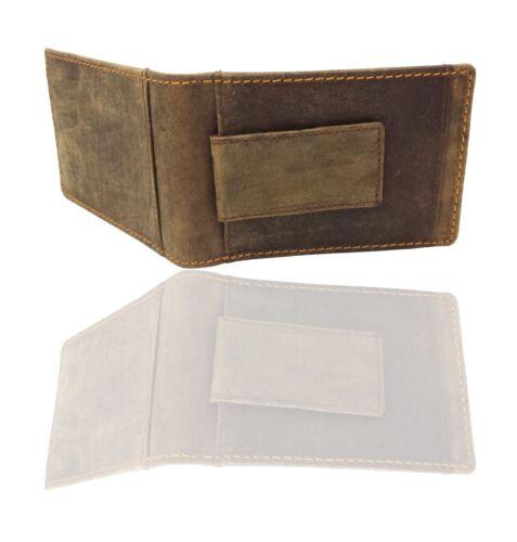 Designer homme en cuir portefeuille rfid safe sans contact carte bloquant id protection