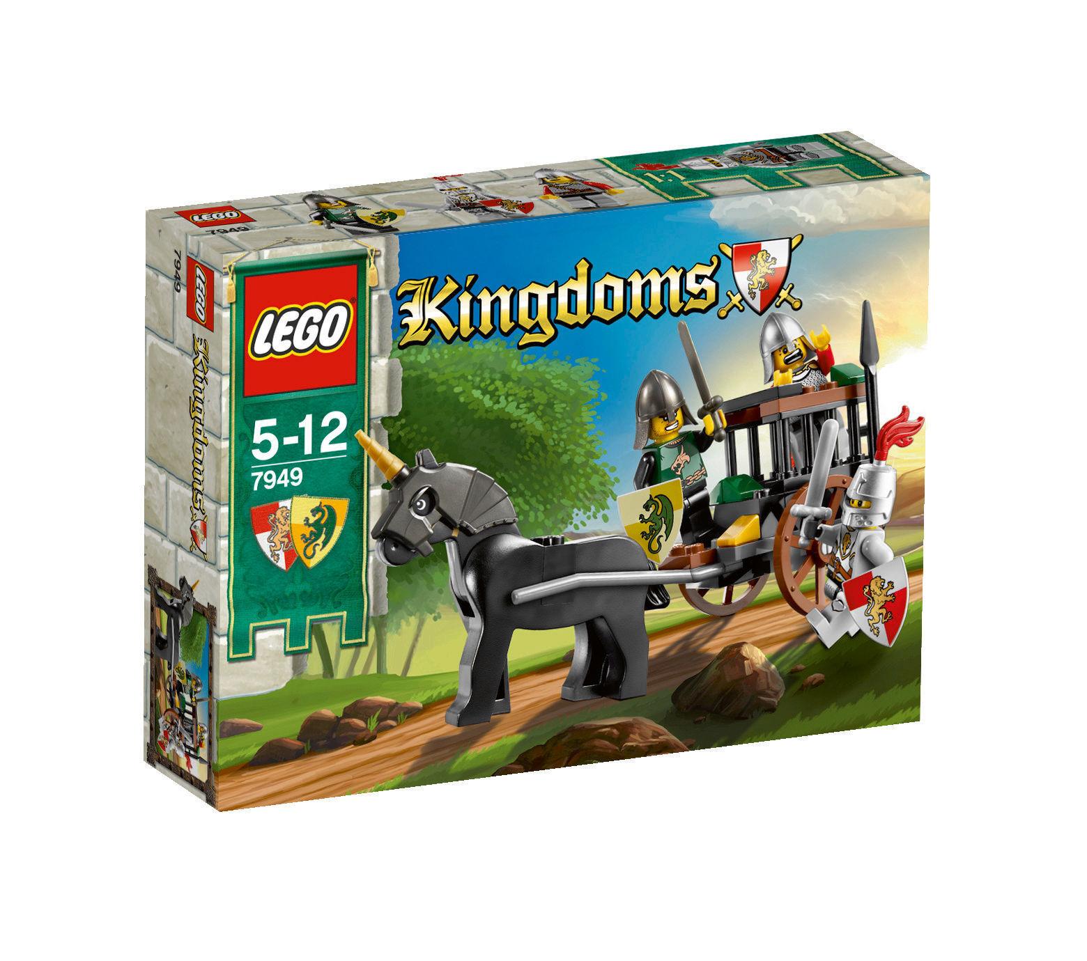 LEGO ® 7949 Kingdoms libération de la prison carrosse Nouveau neuf dans sa boîte _ NEW En parfait état, dans sa boîte scellée Boîte d'origine jamais ouverte